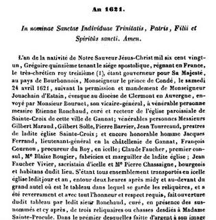 Livre Tablettes historiques de l'Auvergne