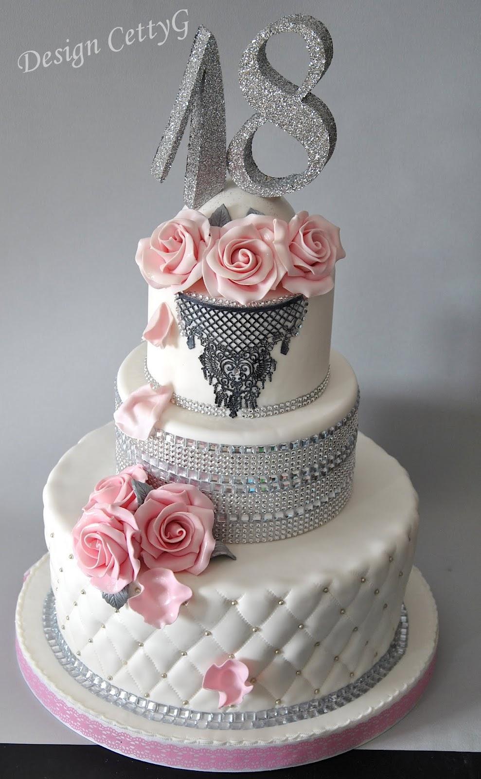 Preferenza Le torte decorate di Cetty G: 18°CompleannoChic IJ58