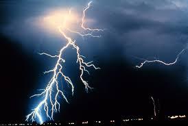 ظاهرتي البرق والرعد