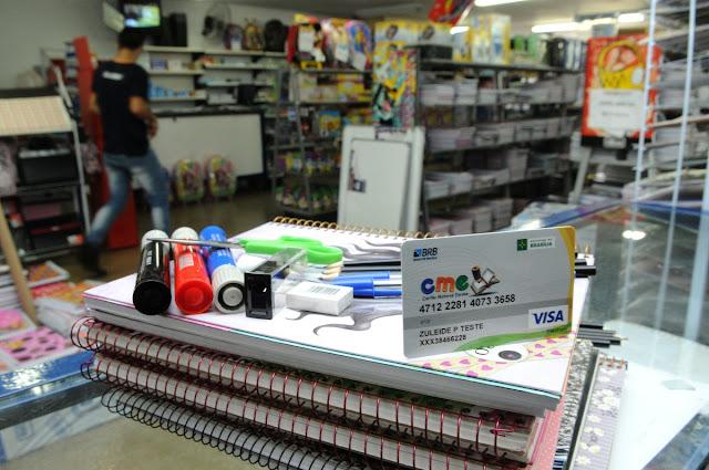 Ibaneis quer retomar programa Cartão Material Escolar