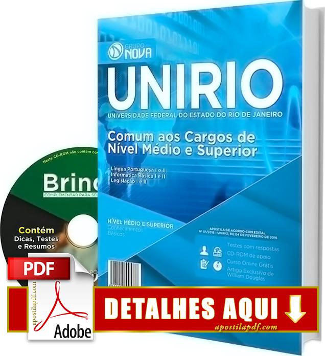 Apostila UNIRIO 2016 Impressa