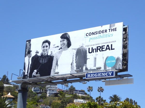 UnREAL season 2 Emmy billboard
