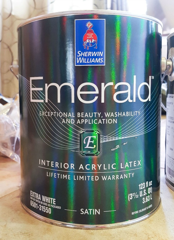 Emerald paint by Sherwin-Williams