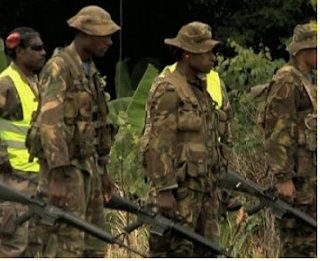 PNG Defence Force soldiers pull out of Hela Province