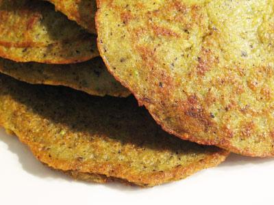 black-eyed pea savory pancakes