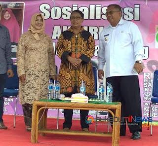 Menteri P3A Meresmikan Rumah Sahabat Ibu dan Anak di Cisaat Sukabumi
