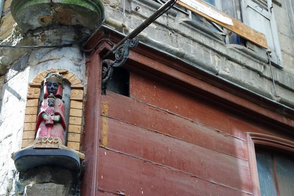 haute-loire le puy en velay vieille ville saint