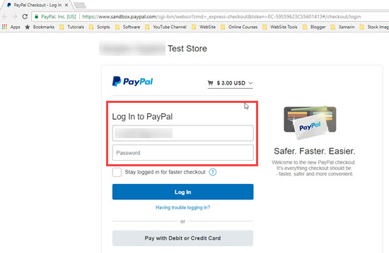 PayPal payment gateway integration in ASP NET MVC ~ IT
