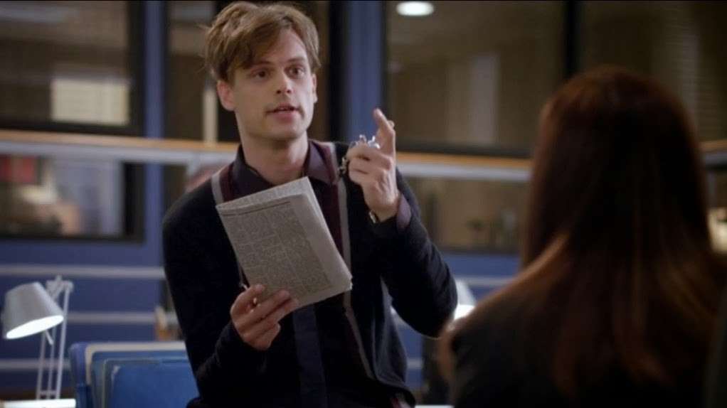 SpenceReid17: Favorite Spencer Reid moments in season 9 so far