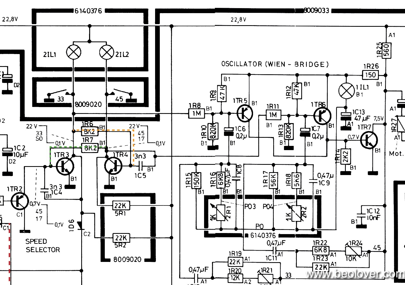beolover  beogram 4002  5503   replacing the incandescent
