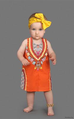 vestidos para bebés
