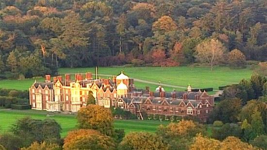 Sandringham vista aérea