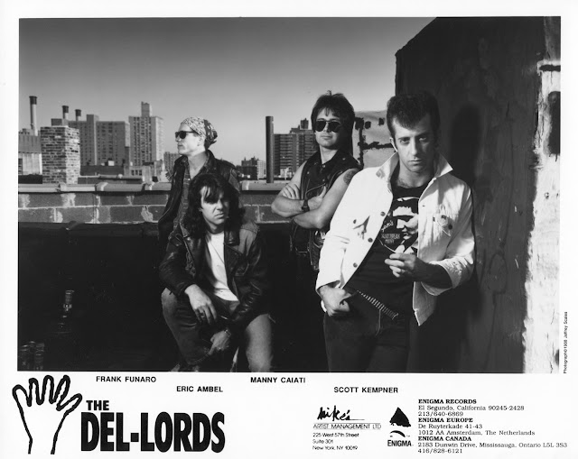 The Del-Lords photo by Jeffrey Scales, courtesy Enigma Records