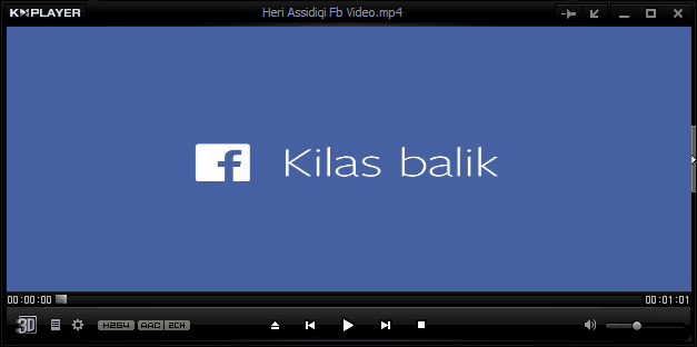 Cara Download Video Facebook Look Back