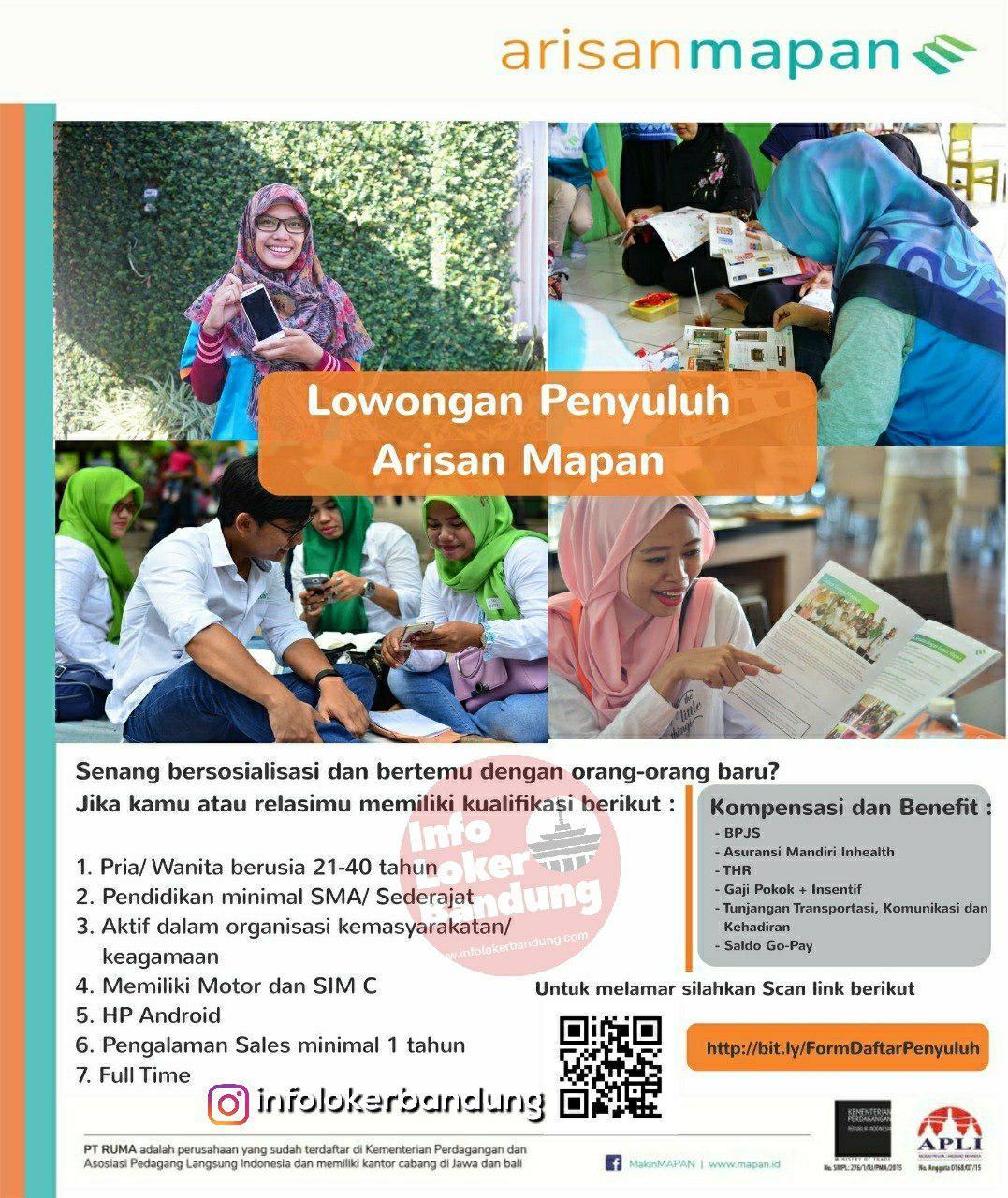 Lowongan Kerja PT. RUMA Bandung Januari 2019