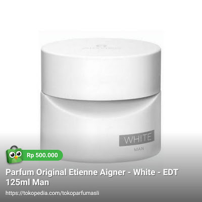 etienne aigner white edt 125ml man