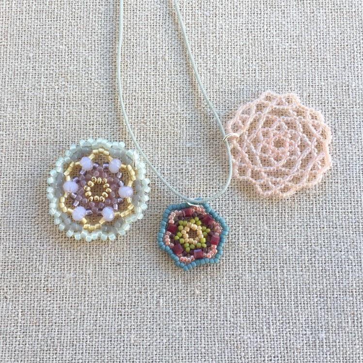 DIY Beading Tutorial and Pattern Daiki Pendant