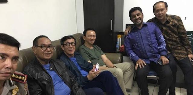 Menkumham Kunjungi Ahok di Cipinang, Begini Respon Keras Komnas HAM