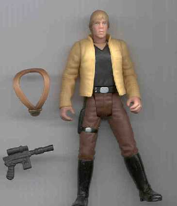 Luke Skywalker Ceremonial Outfit, Power of the Force II, Kenner, Star Wars