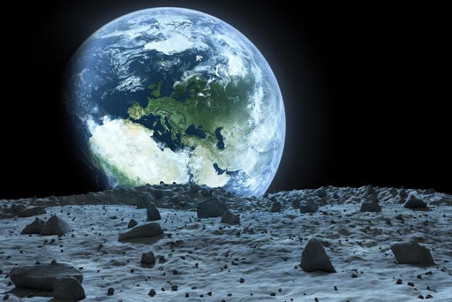 Suara Musik Misterius Di Orbit Bulan