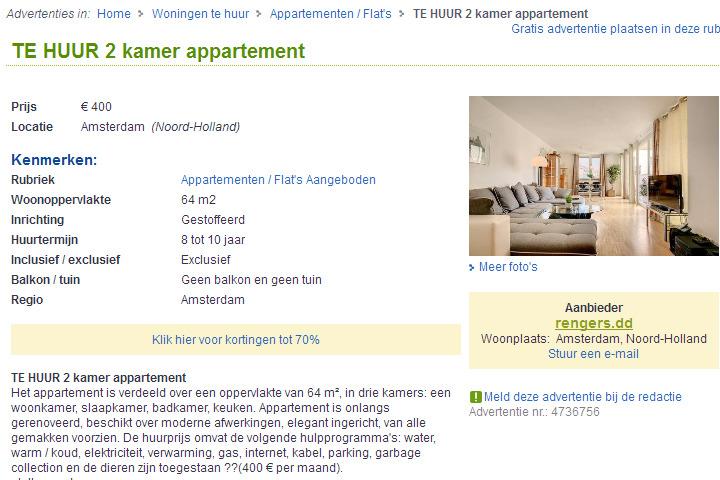 Exclusive m blierte 2 zimmer wohnung kaltmiete 400 00 zzgl - Kamer te huur m ...