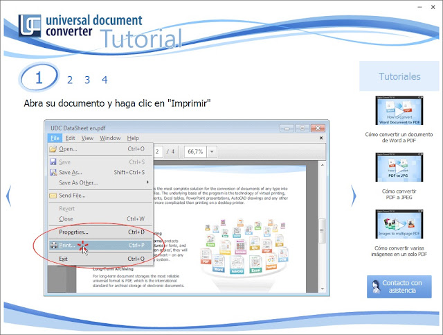 Universal Document Converter 6.7 imagenes