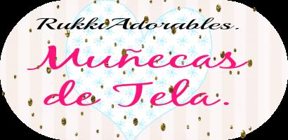 RukkiAdorables Muñecas de Tela