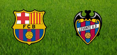 مشاهدة مباراة برشلونة وليفانتى اليوم بث مباشر فى الدورى الاسبانى