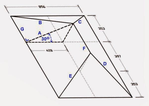 menghitung kebutuhan baja ringan atap jurai proyek sipil cara mudah panjang dan nok bubungan