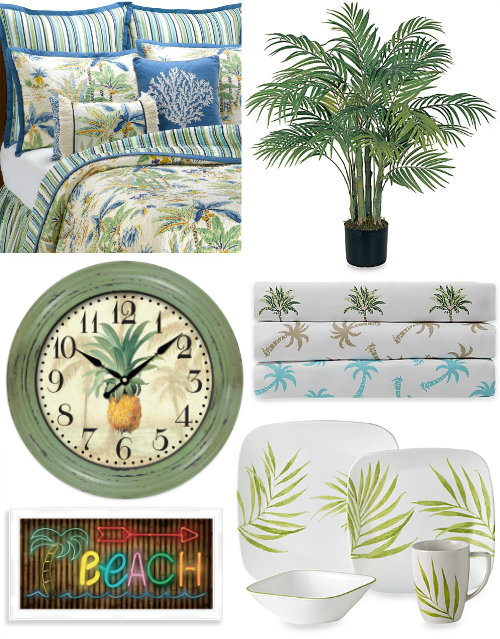 Tropical Decor Accessories