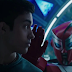 Brody e seu androide na primeira cena de Power Rangers Ninja Steel