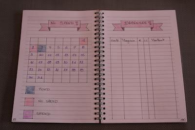calendrier des dépenses