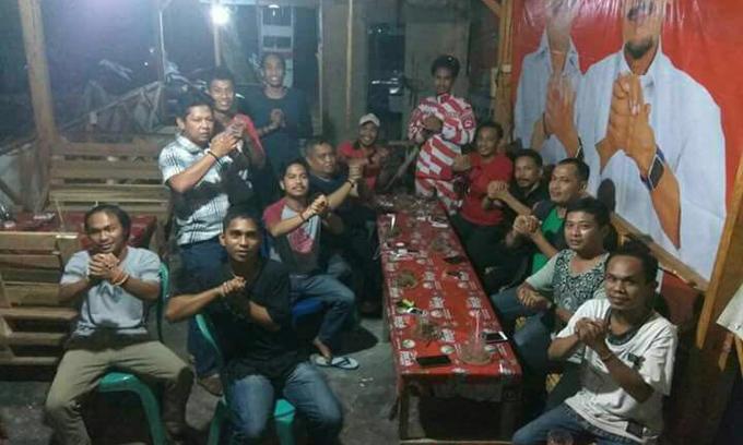 Puluhan Komunitas Relawan IYL-Cakka Kawal Rekapitulasi Berjenjang di KPU