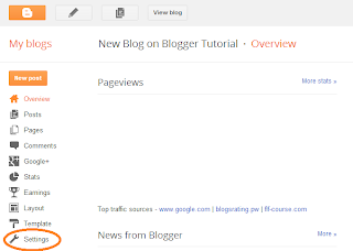 How to Add Blog Description on Blogger