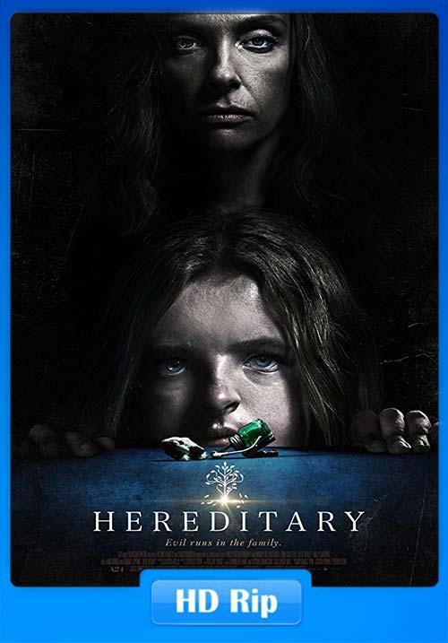 Hereditary 2018 720p WEBRip x264 | 480p 300MB | 100MB HEVC Poster