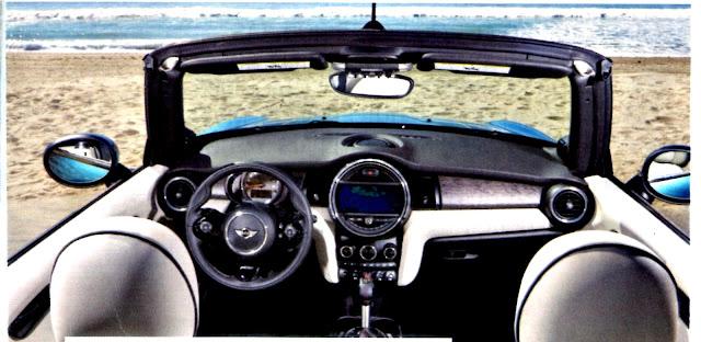 Mini Cabrio Cooper y Cooper S interior