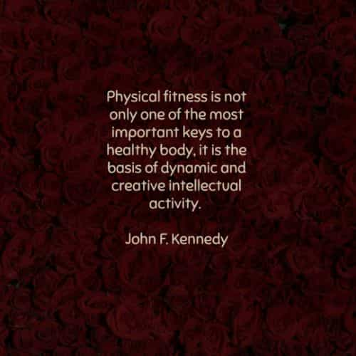 Fitness quotes and fitness motivation sayings