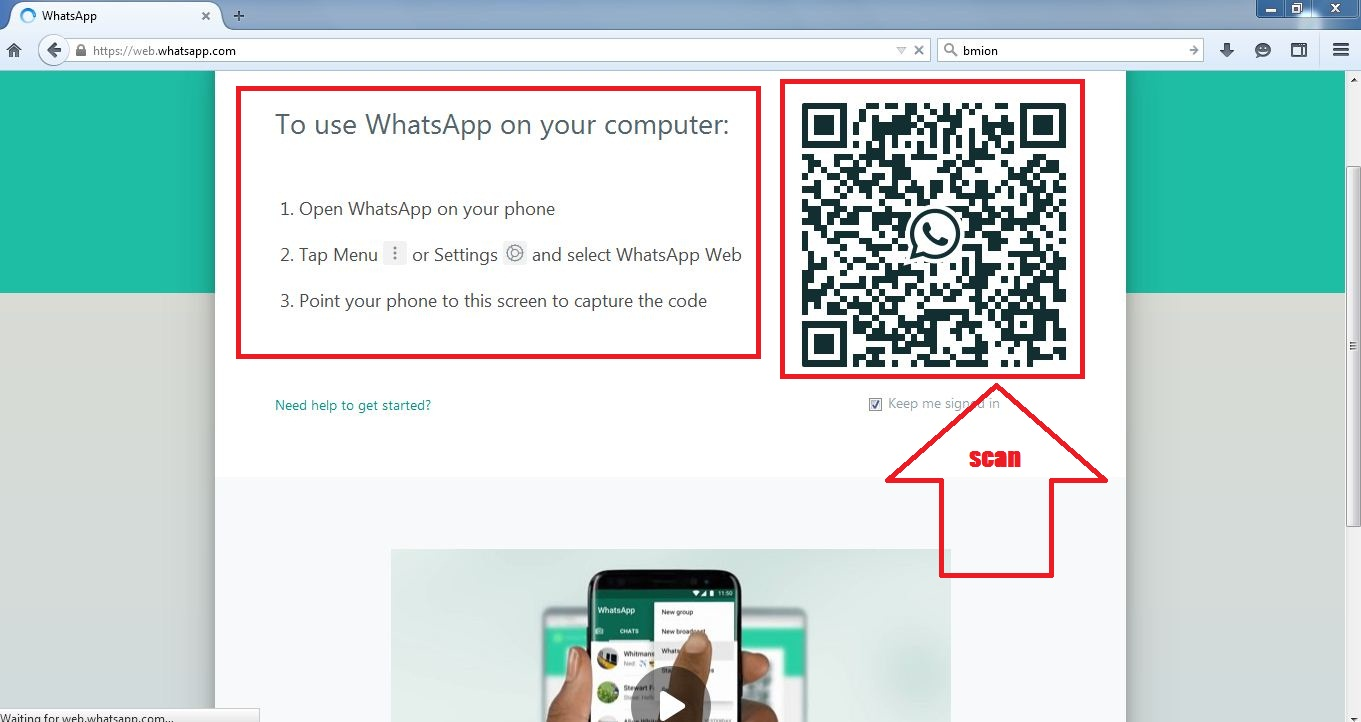 How to use whatsapp on PC without any app? - Techiblogbd Com