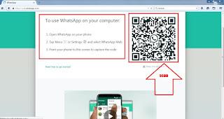whatsapp web qr code scan