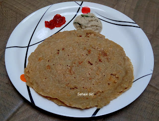 Wheat Barley dosa