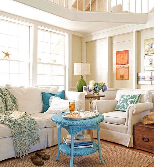 Colorful Beach Condo Makeover: Beach Condo Decorating Ideas With Photos