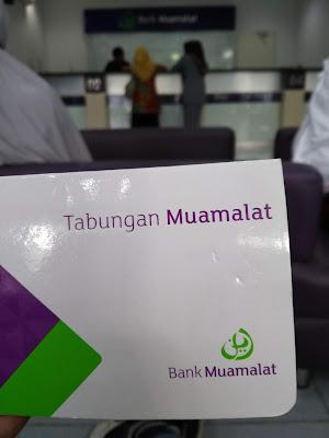 Tempatku Menabung Saat ini di Bank Muamalat (dokpri)