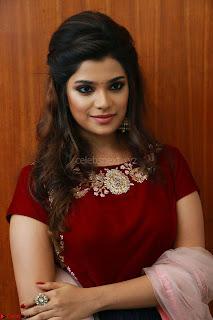 Actress Aathmika in lovely Maraoon Choli ¬  Exclusive Celebrities galleries 089.jpg