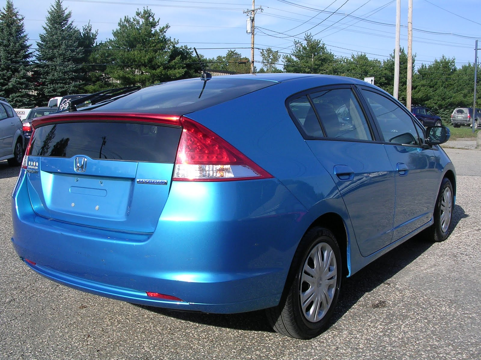earthy cars blog earthy car   week  blue honda insight lx