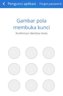 cara memberi password pada aplikasi tertentu di hp android