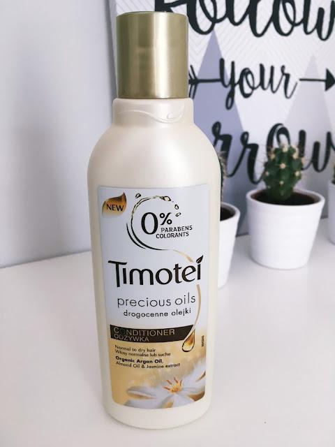 Timotei Precious Oils drogocenne olejki odżywka do włosów suchych i normalnych