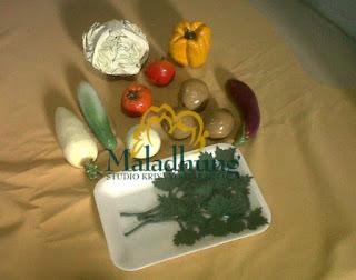 food model resin