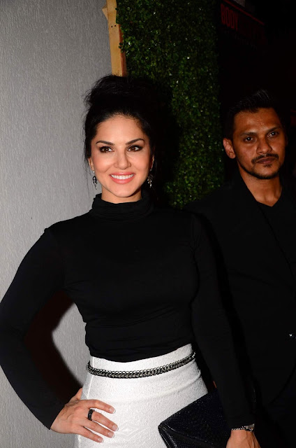 Sonal Chauhan and Sunny Leone At The Launch of Body Sculptor Gym