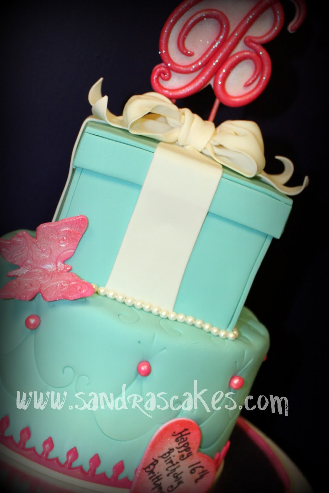 Tiffany Box Sweet Sixteen