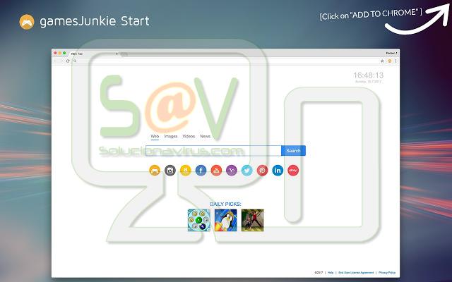 GamesJunkie Start (Extensión)